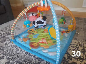 Activity gym baby play mat