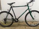 "Raleigh pioneer Hybrid bike. 22"" extra large frame. 700cc Wheels. Work"