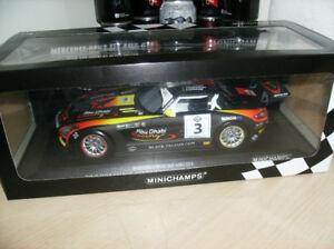 1/18 diecast neuf NIB. Minichamps Mercedes-Benz SLS AMG