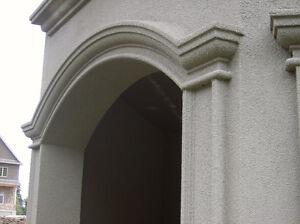 Exterior Stucco Trim & Interior Plaster Crown Moldings & Columns Cambridge Kitchener Area image 7