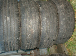 2 sets of 4 tires for 200.00 each set Cornwall Ontario image 2