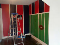 Skilled mural and specialty painter