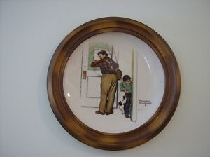 Norman Rockwell Collector Plate Kingston Kingston Area image 2