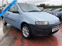 2001 FIAT PUNTO 1.2 LOW MILES LONG MOT 3DR 59 BHP