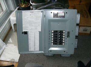 Boite électrique 125a avec  montage.