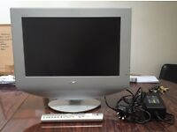 Sony 17 inch lcd TV with remote model nos KLV 17HR3