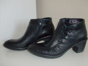 Ladies Boots - Size 38 or 7-7.5 Quality Rieker Leather