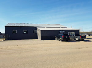 Solid shop on 1 acre lot in Weyburn - For Sale or Lease