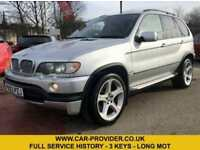 2003 BMW X5 4.6 IS AUTO FULL SERVICE HISTORY 3 KEYS LONG MOT 5DR 342 BHP