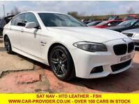 2012 61 BMW 5 SERIES 520D M SPORT 2.0 DIESEL AUTO 4DR 181 BHP DIESEL