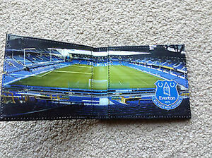 Official Everton Wallet - Stadium Design Black - Ideal Gift for a Toffees Fan