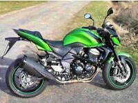 2012 Kawasaki ZR750N, Green, Low mileage, Excellent, Serviced, MOT, Warranty