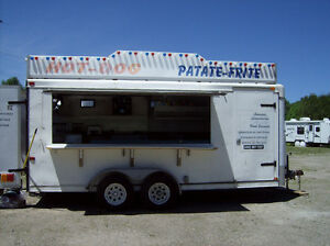 """Roulotte """"Food truck"""" trailer food truck"""