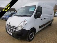 2014 64 RENAULT MASTER 2.3 LM35 ENERGY DCI LWB MEDIUM ROOF 125 BHP 17 MILES ONLY