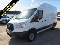 2014 64 FORD TRANSIT 2.2 TDCI 350 LWB HI ROOF WITH TAIL LIFT 19716 MILES DIESEL