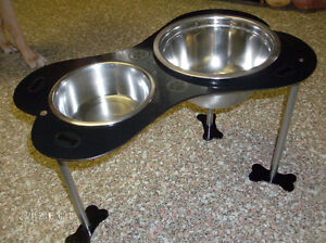 Funky/Fun/Industrial, Heavy Duty Steel Pet Feeding Station Stratford Kitchener Area image 2