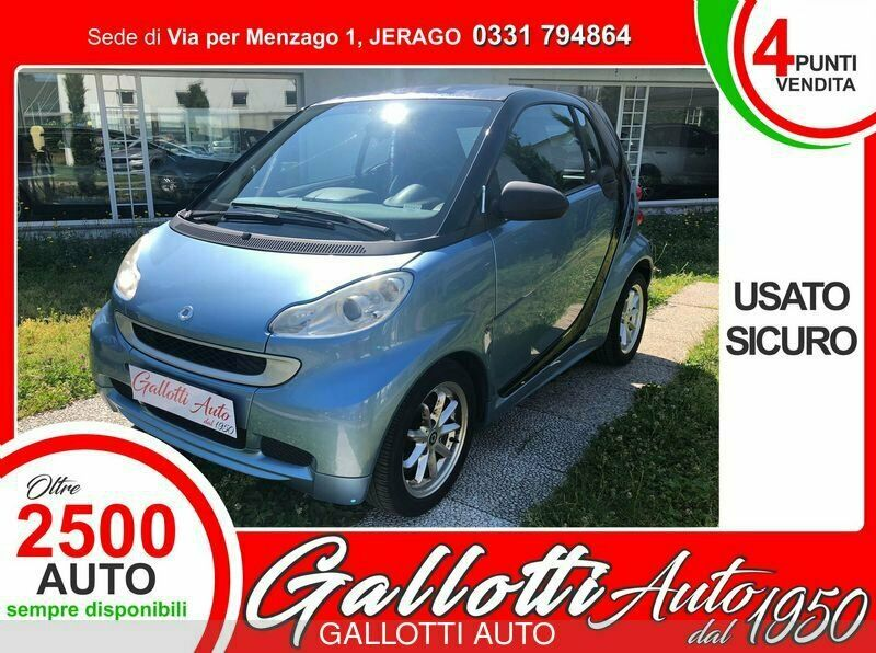 Smart fortwo fortwo 1000 52 kW MHD coupé