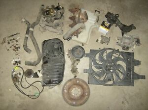 Alternator and water pump chrysler 2.5l