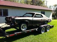 1970 428 CJ Cougar rolling chassis Cobra jet car - SALE PENDING