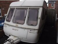 Touring caravan 6 berth