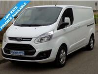 15(15) FORD TRANSIT CUSTOM LIMITED L2H1 290 LWB LOW ROOF 125BHP 6 SPEED EURO5