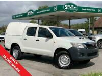 2014 Toyota Hilux 2.5 ACTIVE DOUBLE CAB PICK UP 4x4 Diesel Manual