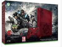 XBOX ONE S WANTED! CRIMSON RED GEARS OF WAR LIMITED EDITION WANTED!