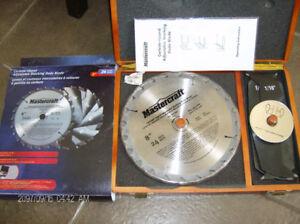 Mastercraft Carbide Tip Dado Blade Set 8''