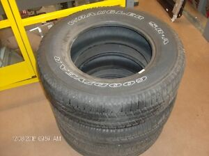 P265/70R18 114S Take offs for sale