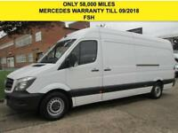 2015 65 MERCEDES-BENZ SPRINTER 2.1 313CDI LWB HIGH ROOF 129 BHP. ONLY 58K. MERC