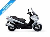 2017 17 SUZUKI UH 125 BURGMAN BRILLIANT WHITE, BRAND NEW!