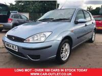 2004 FORD FOCUS 1.6I LX LONG MOT PART SERVICE HISTORY 2 KEYS 4DR PETROL
