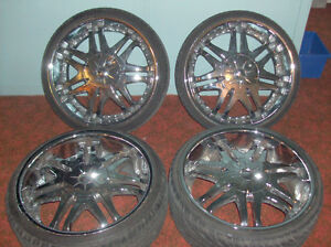 20 inch Chrome Rims, DIP Brand