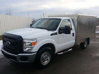 2013 Ford F-250 Coffee Truck New Montreal Style Kitchen