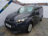 2014 14 FORD TRANSIT CONNECT 1.6 240 TREND P/V 1D 94 BHP LONG WHEEL BASE DIESEL