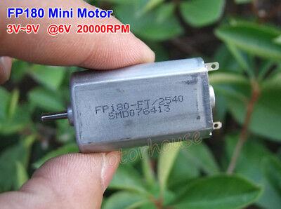 Dc 3v9v 5v 6v 20000rpm High Speed Carbon Brush Fp180 Mini 180 Motor Diy Toy Car