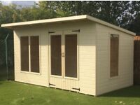 14ft x 8ft summerhouse/ shed/ office/ games room