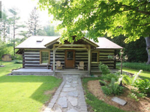 Log Cabin -walking distance to Lake Huron, sleeps 8