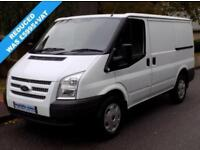 62(12) FORD TRANSIT 280 SWB LOW ROOF 2.2 ECONETIC 100 BHP 6 SPEED EURO 5