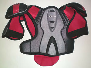 Selection of 6 Pair of Ice Hockey Shoulder Pads London Ontario image 2