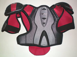 Selection of 5 Pair of Ice Hockey Shoulder Pads London Ontario image 2