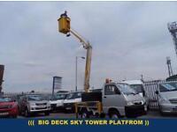 2005 55 PIAGGIO PORTER 1.4 PICK-UP PLATFROM CHERRYPICKER BIG DECK DIESEL