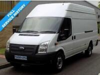 63(13) FORD TRANSIT JUMBO EL XLWB 350 HIGH ROOF 2.2 RWD 125 BHP 6 SPEED EURO 5