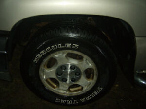 Chevrolet 6 Bolt Wheels / Tires 255 / 70 / 16