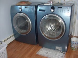 Samsung Washer and Dryer Front Load