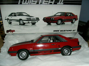 1/18 DIECAST GMP # 8069 FORD MUSTANG GT TWISTER II 1985