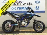2014 14 YAMAHA WR 125 X, OUTSTANDING CONDITION! - LEO VINCE EXHAUST!