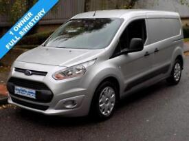 64(14) FORD TRANSIT CONNECT TREND L2 1.6 TDCI T210 LWB LOW ROOF 95 BHP 3 SEATS