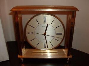 Bargain !!  NEW Bulova Clock (In Orig Box) Great Gift Idea !!
