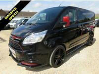 2016 65 FORD TRANSIT CUSTOM 2.2 TDCI 290 LIMITED RS KIT 155 BHP WITH TAILGATE 23